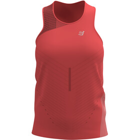 Compressport Performance Singlet Women, coral